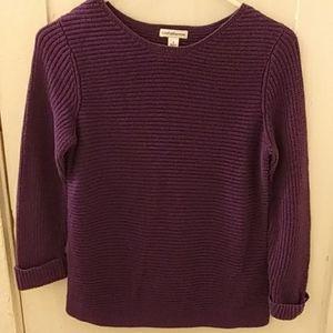 Croft&Barrow women's knit sweater size small